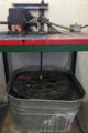 Wet sieving apparatus with soil sieve nest holder and nests in place.png