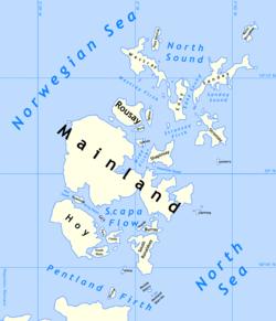 kart over orknøyene Orknøyene – Wikipedia kart over orknøyene