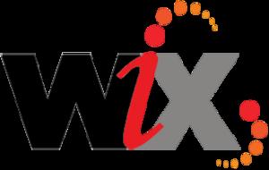 WiX - Image: Wi X logo (2016, black)