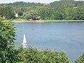 Widok z klasztoru kamedułów na Jezioro Wigry 6.jpg