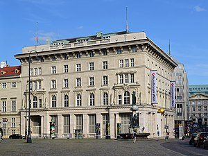 Constitutional Court (Austria) - Seat of the Constitutional Court in Vienna