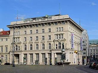 Constitutional Court (Austria) - Seat of the Constitutional Court in Vienna