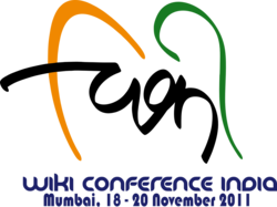 Wiki Conference India logo (with dates).png