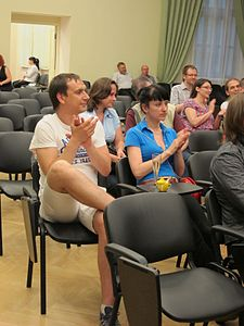 Wiki Party in Moscow 2013-05-18 (Wiki Award; Krassotkin; 08).JPG