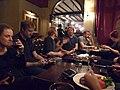 Wikimania 2014 Volunteer Drinks 2014-05-08 05.jpg
