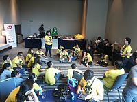 Wikimania 2015-Thursday-Volunteers (6).jpg