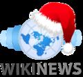 Wikinews logo Christmas.png