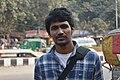 Wikipedian Rafaell Russell at Shahbag.jpg
