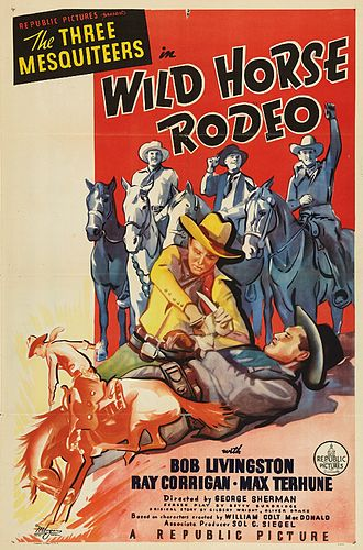 Wild Horse Rodeo - Image: Wild Horse Rodeo 1937 Poster