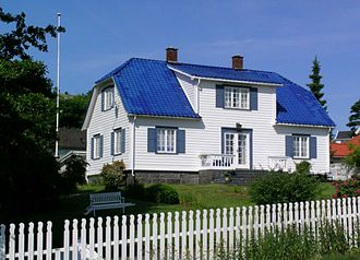 Herman Wildenvey - Hergisheim - Wildenvey home in Stavern
