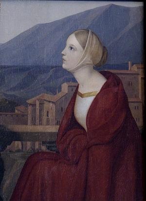 Wilhelm von Kügelgen - Julie Krummacher, who would later become Wilhelm's wife (1825/26)
