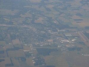 Willard, Ohio - Aerial view