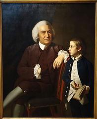 William Vassall and His Son Leonard