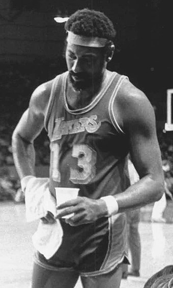 Wilt Chamberlain played for Los Angeles for five seasons during the late 1960s and early 1970s. He was an integral part of their 1971–72 team that is considered one of the best in NBA history. Wilt Chamberlain 1972.jpeg