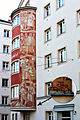 Windmühlhof, Wien 6.,Fillgradergasse 21, Sgraffiti von IgoPötsch.jpg