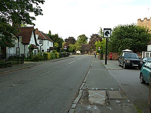 image of Windmill Road, Fulmer - geograph.org.uk - 3195284