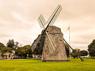 Water Mill, New York - Image: Windmill at Watermill, Southampton NY 20180914 080131