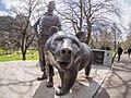 Wojtek (bear) statue in Princes Street Gardens.jpg
