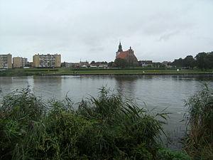 Blick auf die Stadt Wolin