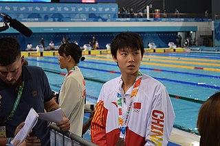 Yang Junxuan Chinese swimmer