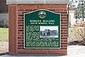 Women's Building Justin Morrill Hall Michigan State University Historical Marker 2016-1405.jpg