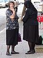Women on Street - Shkodra - Albania (27719542147).jpg