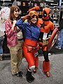 WonderCon 2012 - Kaley from Firefly, Nomad, and Captain Deadpool (6873504362).jpg