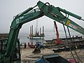 Works progressing on the new slipway - geograph.org.uk - 1331373.jpg