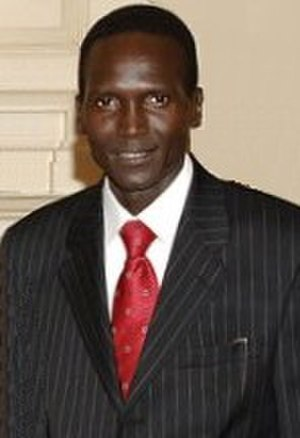 Paul Tergat - In May 2007, at a WFP meeting.