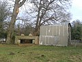 World War II field artillery emplacement, west end of Waverley Mill Bridge 02.jpg