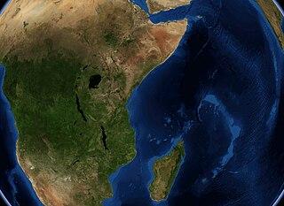 Satellitenfoto Ostafrika