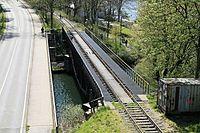 Wuppertal - Wupperbrücke Porta Westfalica Ost + Fischbauchbrücke (Brücke Siegelberg) 01 ies.jpg
