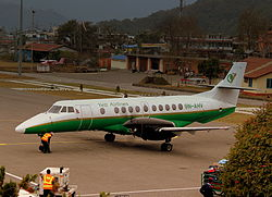BAe Jetstream 41 der Yeti Airlines