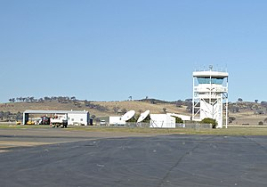 Australian air traffic control - Wagga Wagga Airport Control Tower (Now disused)