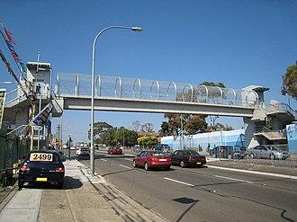 Yagoona, New South Wales - Yagoona Pedestrian Bridge