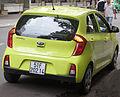 Yellow Kia Morning second generation rear view.jpg