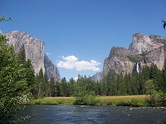 Central California - Merced River from Yosemite