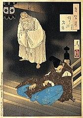 Sumiyoshi full moon (Sumiyoshi no meigetsu)