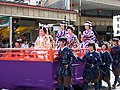 Young ladies and warriors in 2006 Aizu parade.JPG