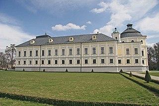Kravaře Town in Moravian-Silesian, Czech Republic