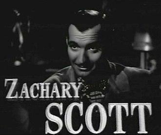 Zachary Scott - Scott in the trailer for the film Mildred Pierce (1945)