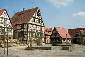 Maulbronn - Town square