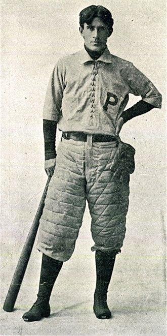 Zane Grey - Zane Grey at the University of Pennsylvania, 1895