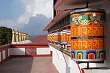 Zang Dhok Palri Phodang 07 - Prayer wheels.jpg