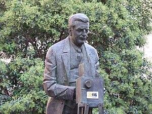 Eduardo Jimeno - Statue of Eduardo Jimeno in Zaragoza