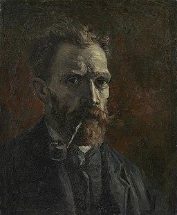 Zelfportret met pijp - s0158V1962 - Van Gogh Museum