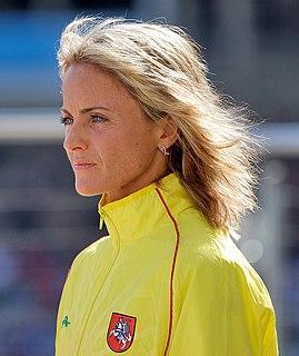 Živilė Balčiūnaitė athletics competitor
