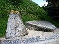 Zolochiv Lvivska-Castle-enigmatic stones.jpg