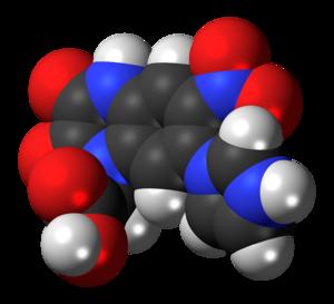Zonampanel - Image: Zonampanel molecule spacefill