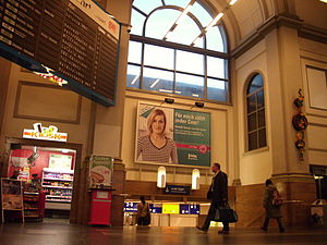 Magdeburg Hauptbahnhof - Entrance hall